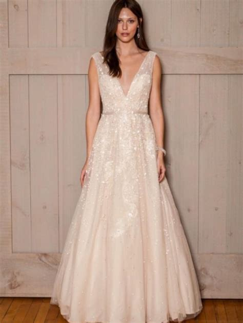 melissa sweet champagne tulle satin floral   neck