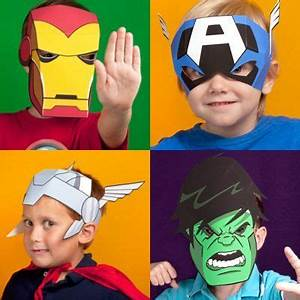 printable avengers masks for kids party ideas for sawyer With avengers mask template
