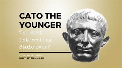 Cato Younger Stoic Stoicism Interesting Ever Definition