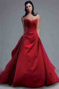 Amazing red wedding dresses cherry marry for Wedding dress red