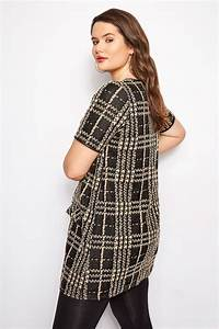 Bon Price Mode : tunique jacquard noire beige grande taille 44 60 ~ Eleganceandgraceweddings.com Haus und Dekorationen