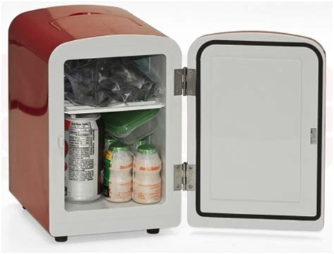 Brand New Red Mini Fridge/Warmer Refrigerator ( Perfect