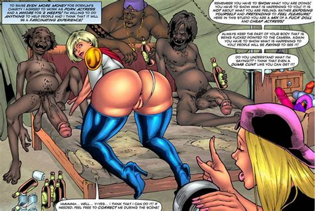 #Porn #Comic #Update #By #Superheroine #Comixxx #Drained #Tits