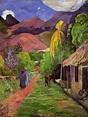Road in Tahiti - Paul Gauguin - WikiArt.org - encyclopedia ...