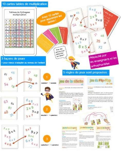jeu pour apprendre les tables de multiplications 10 232 res d apprendre les tables de multiplication autrement et efficacement