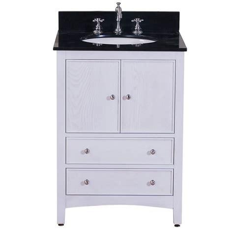 24 inch white bathroom vanity project rehab