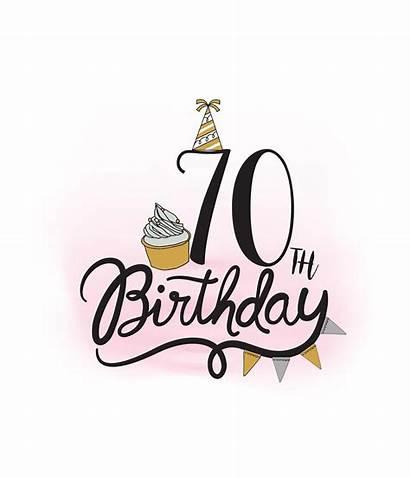 70th Birthday Clipart Svg Quote Cupcake Cricut