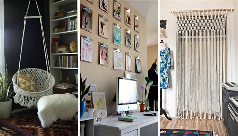 easy dorm room diy decorations project ideas