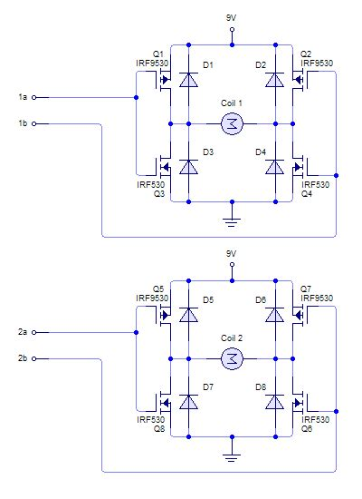 Dual Power Supply Coil Driver All About Circuits