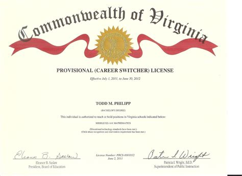 career development theories virginia teaching license online portfolio of todd philipp