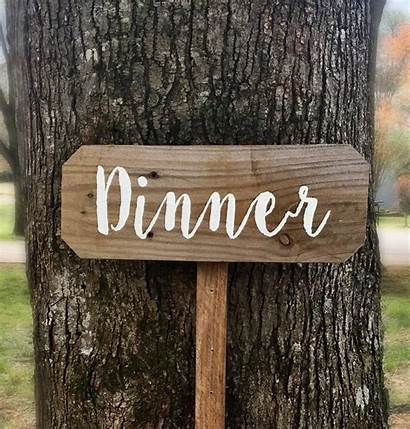 Sign Dinner Designs Rust Wood Rustic Kitchen