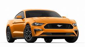 Mustang GT fastback Colors - Select Your Favourite Car Color 2020