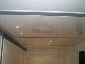 Faux Plafond Pvc : prix plafond pvc maison travaux ~ Premium-room.com Idées de Décoration