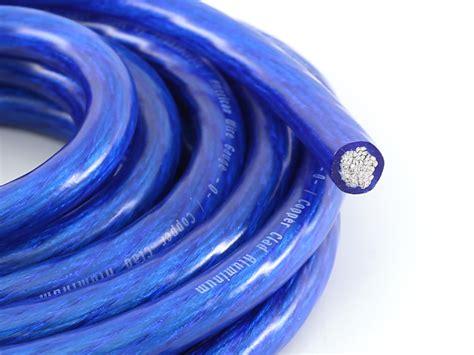 bassik 0 power ground wire blue merchandise
