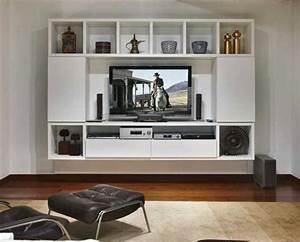 White Colour TV Cabinet