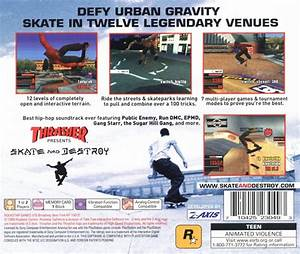 Thrasher Presents: Skate and Destroy (1999) PlayStation ...