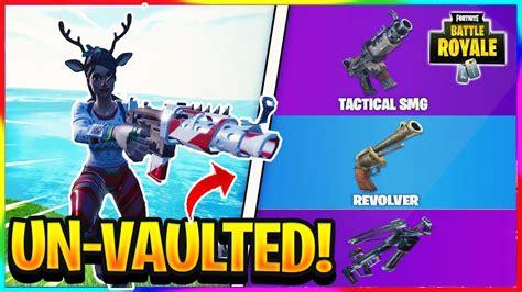vaulted weapons    fortnite fortnite