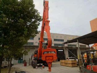 high precision excavator mounted wood pile driver short working period