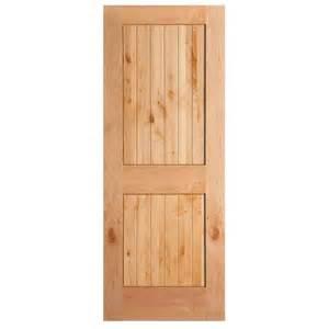 interior barn door hardware home depot masonite 36 in x 84 in knotty alder veneer 2 panel plank