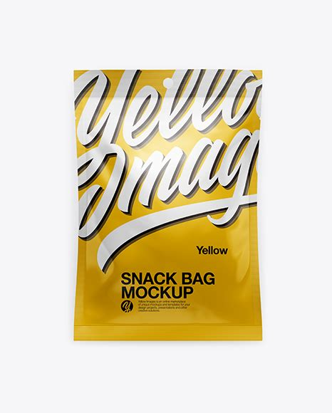 Glossy metallic snack bar mockup glossy metallic snack bar mockup 3028098 psd, all files. Metallic Snack Bag Mockup - Glossy Snack Bag Mockup ...