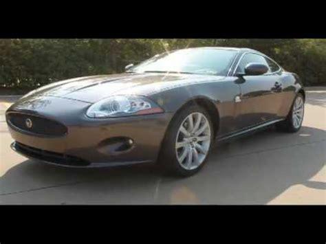 jaguar xk luxury coupe pearl grey  dallas tx