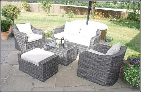 grey wicker outdoor furniture home design