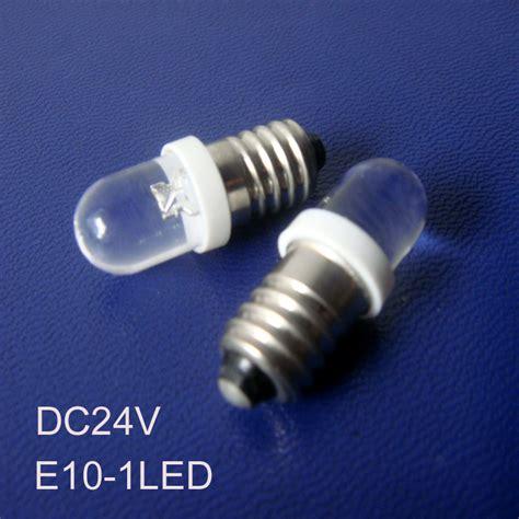 high quality e10 24vdc led lights 24v e10 led pilot l