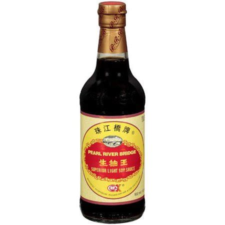 light soy sauce pearl river bridge light soy sauce 16 9 fl oz walmart