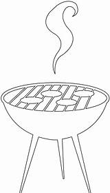 Bbq Silhouettes Silhouette Outline Svg sketch template