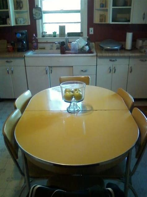 Growing Up Table And Chairs And Formica Table On Pinterest