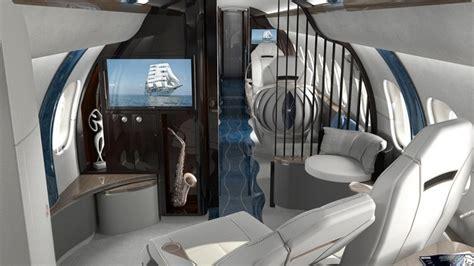 fly canapé lit les plus beaux aménagements intérieurs pour jets privés