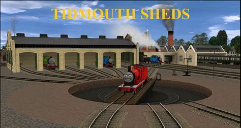 the tidmouth shed tidmouth sheds by ptg911 on deviantart