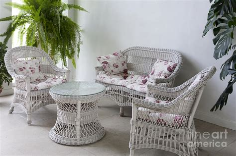 White Wicker Furniture Photograph By Jaak Nilson Small Living Room Bed Colour Schemes Elegant Luxury Furniture Contemporary Fitted Formal Color Kitchen And Renovation Red Curtains Uk Ideas Tv Stand