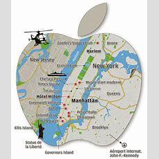 Carte Géographique De New York
