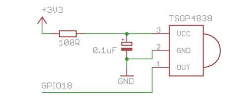 Adding Activity Led Receiver Circuit