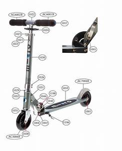 Micro Bullet Scooter Spare Parts