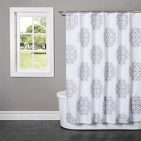 bed bath beyond shower curtains benito shower curtain bed bath beyond