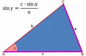 Sin Berechnen : sinussatz und dreieck berechnen eines dreiecks ~ Themetempest.com Abrechnung