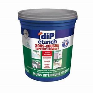 Peinture Sans Sous Couche : peinture sous couche anti humidit blanc 0 75l castorama ~ Premium-room.com Idées de Décoration