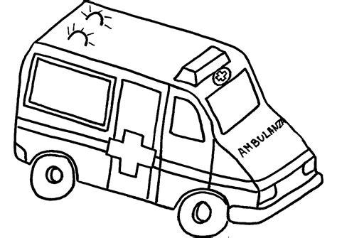 ambulance  transport coloriages  imprimer