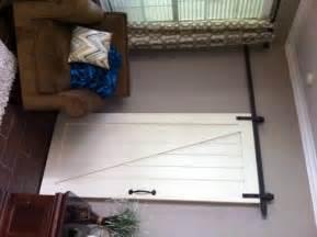 White Sliding Barn Door Interior