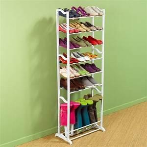 Rangement Chaussures Original : le rangement chaussures efficace en 19 exemples ~ Teatrodelosmanantiales.com Idées de Décoration
