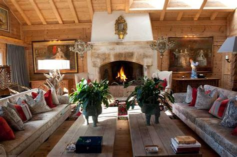 alpine chalet  french style shows art deco