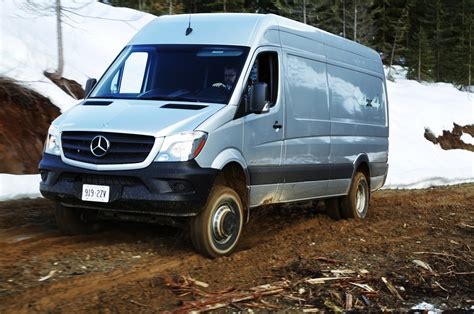 Product review done by vans assistant tristin fontaine. 2015 Mercedes-Benz Sprinter 4x4 Review