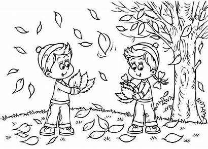 Coloring Autumn Pages