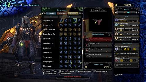 switch mhw iceborne build axe guide level vs decorations builds loadout skill crit monster hunter gamewith damage elemental handicraft