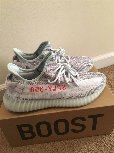 UK Adidas UK Shoes Store   Adidas Yeezy Boost 350 V2 Blue