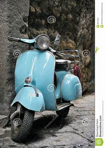 Classic Italian Scooter Stock Photo  Image Of Nobody  Italy