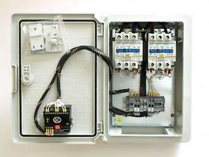 ats automatic transfer switch panel 1ph 80a ac1 generator auto start output ebay