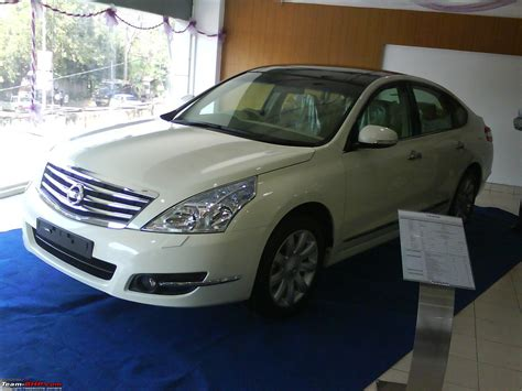 Nissan Teana Modification by Nissan Teana Discontinued In India Team Bhp